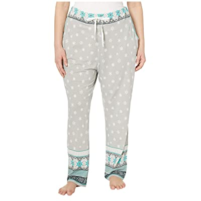 Aventura Clothing Plus Size Nordic Border PJ Pants (High-Rise) Women