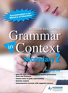 Grammar in Context Secondary 2