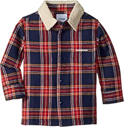 Lincoln Flannel Shirt w/ Sherpa Collar (Toddler/Little Kids/Big Kids)