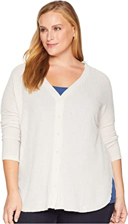 Plus Size Shea Button Up Cardigan