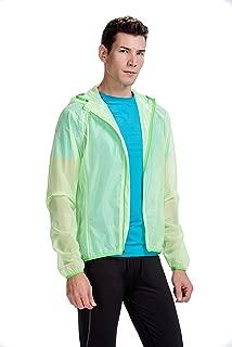 CYZ Men's Ultralight Wind Shell Water Proof Running Jacket - Bike Jacket
