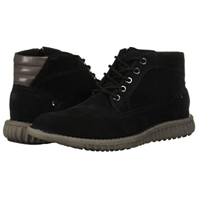 Steve Madden Vasco (Black Suede) Men