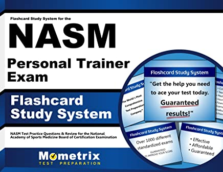 Amazon com: Flashcard Study System for the NASM Personal
