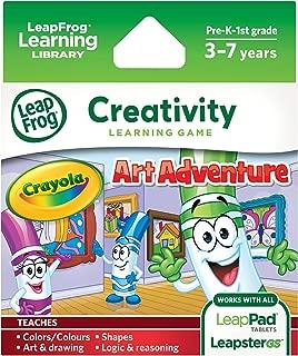 LeapFrog Enterprises Explorer Learning Game Crayola Art Adventure