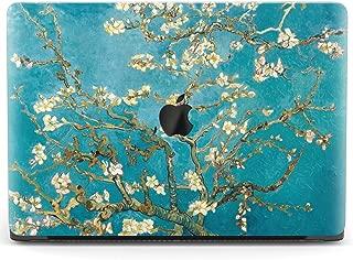 Mertak Hard Case for Apple MacBook Air 13 inch Mac Pro 15 Retina 12 11 2019 2018 2017 2016 2015 Design Branch Vincent Van Gogh Almond Tree in Blossom Cover Laptop Print Plastic Women Shell Floral