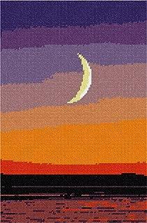 pepita Moon at Sunset Needlepoint Kit