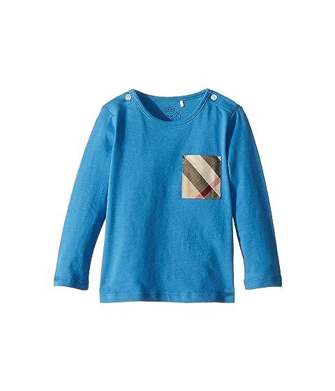 Burberry Kids Mini Long Sleeve YNG Tee (Infant/Toddler)