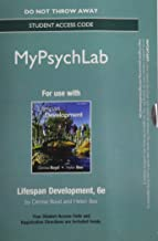 NEW MyPsychLab -- Standalone Access Card -- for Lifespan Development (6th Edition)