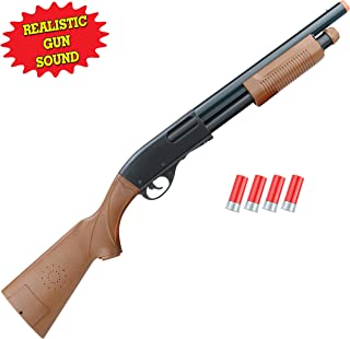 Liberty Imports Kids Toy Pump Action Shotgun Hunting Rifle with Ejecting Shells - Realistic Electronic Gun Sounds (30-Inches)