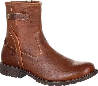 حذاء رعاة البقر DDB0152 للرجال Drifter بسحاب جانبي 8. 5 E US