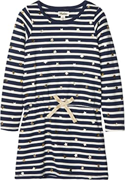 Starry Stripes French Terry Dress (Toddler/Little Kids/Big Kids)