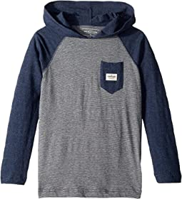 Michi Hooded Long Sleeve (Big Kids)