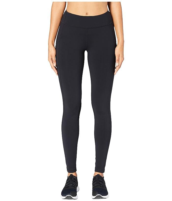 Core 10 Onstride Medium Waist Run Leggings (Black) Women