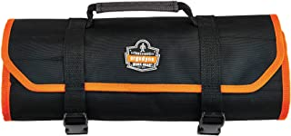 Ergodyne Arsenal 5871 Tool Roll-Up Pouch, 21-Pockets, Polyester, Black