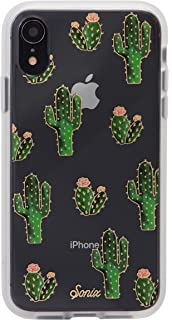 Sonix Prickly Pear Case for iPhone XR [Military Drop Test Certified] Protective Clear Cactus Case Series for Apple iPhone XR