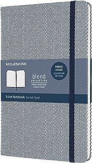 Moleskine - Cuaderno Blend Collection, Cuaderno con Hojas de Rayas, Tapa Dura de Tela con Motivo ...