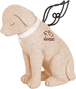 NEWDREAM:Resin Memorial Dog Angel-Pet Statue - Headstones for GravesSton Statue -Angel Dog Statue Memoria- Pet GiftsFor Dogs