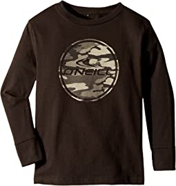O'Neill Kids - Boarder Long Sleeve Screen Tee (Little Kids)