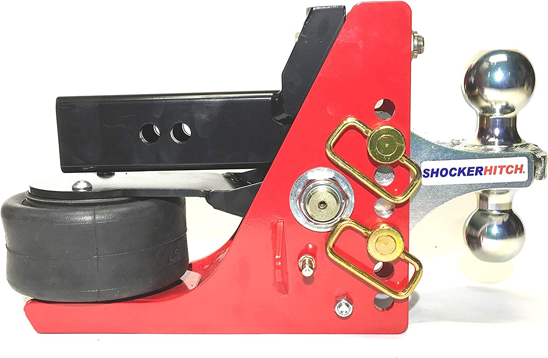 Shocker Air Regular dealer Bag Receiver Hitch Adjustable Popular popular Combo Multi-Ball with