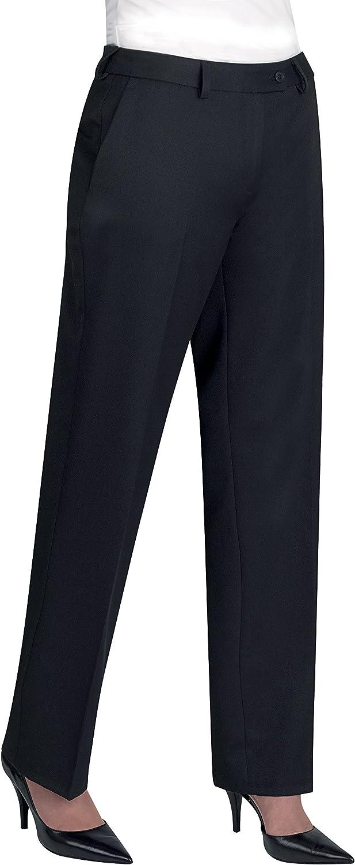 Brook Taverner Womens/Ladies Aura Formal Work/Suit Pants/Trousers (10U) (Navy)