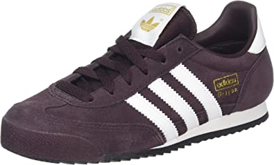 adidas Dragon, Baskets Basses Mixte Adulte, Rouge (Night Red/FTWR ...