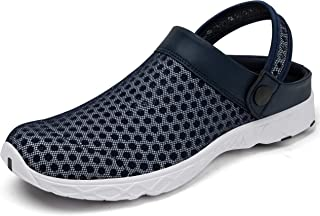 SAGUARO Clogs Men Summer Shoes Women Sandals Mesh Slippers Breathable Mules