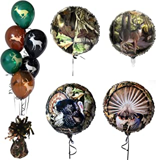 Havercamp Next Camo Balloon Set | Balloons, Balloon Weight | Great for Hunting Parties, Outdoor Enthusiasts, Nature Lovers, Camouflage Themed Occasions