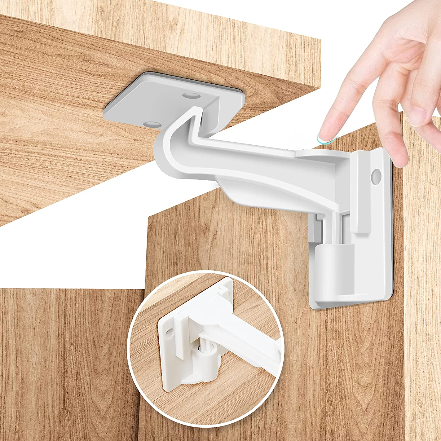 Child Locks for Cabinets 12 unisex We OFFer at cheap prices Proofing Cab Baby Pack Derjunstar