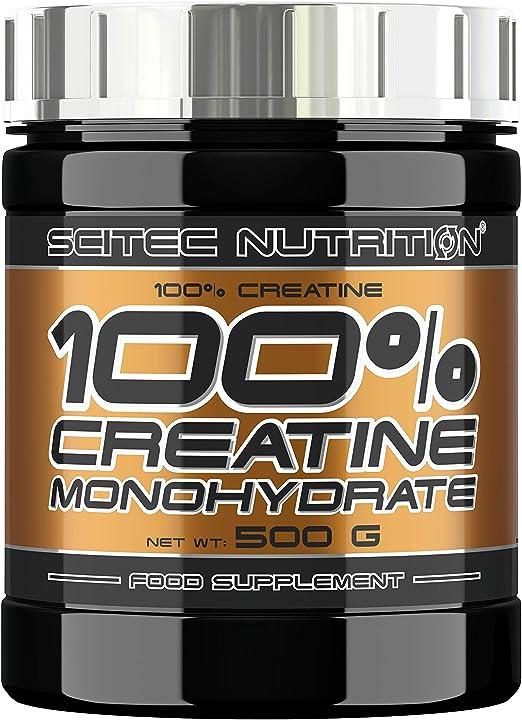 Creatina monoidrata 500g  -  scitec nutrition 0728633105724