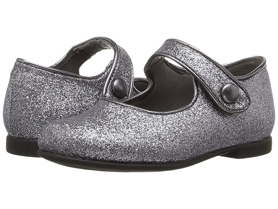 Rachel Kids Lil Halle (Toddler) (Pewter Glitter) Girls Shoes