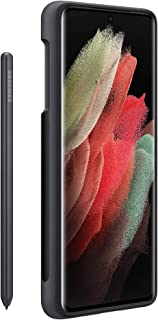 Samsung Galaxy S21 Ultra Silicone cover w/ S-Pen , Black