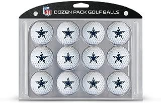 Team Golf NFL Dozen Regulation Size Golf Balls, 12 Pack, Full Color Durable Team Imprint