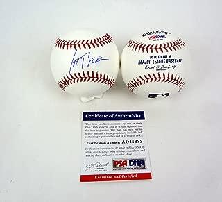 Joe Biden Vice President Signed Autograph MLB Baseball PSA/DNA COA