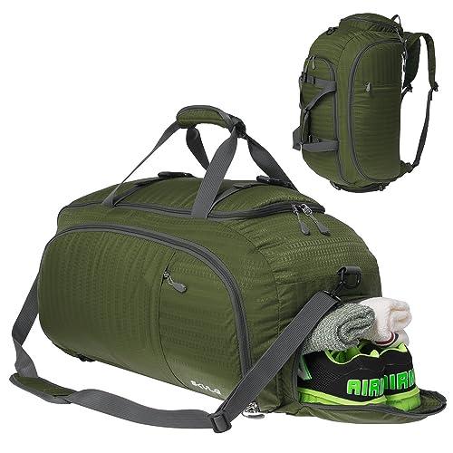 06312b50e8 Coreal 45L Duffel Gym Sports Bag with Shoe Compartment Men   Women