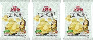Oishi Corn Chips South American BBQ Style 80g, 3 Pack