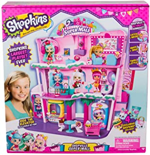 Shopkins Shoppies Shopville Super Mall, Multi Color, 11.81 x 24.01 x 26.71 (56631)