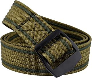 Samtree Nylon Belts for Men,Military Style Casual Outdoor Tactical Weave Belt Simple Buckle