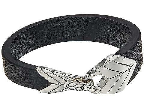 John Hardy Modern Chain Station Bracelet in Leather
