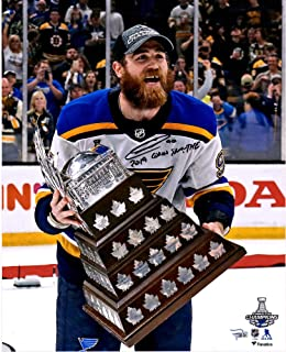 Ryan O'Reily St. Louis Blues 2019 Stanley Cup Champions Autographed 16