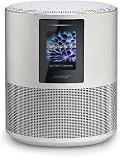 Bose Home Speaker 500;Luxe Silver;Smart Speaker with Bluetooth;Wi-Fi and Airplay 2