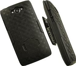 OEM Verizon Shell Holster Belt Clip Case Combo for Motorola Droid Turbo XT1254 - MOTXT1254HOC