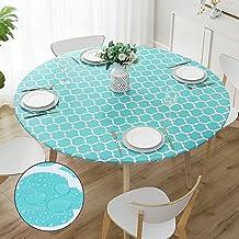 Amazon Com Round Outdoor Tablecloth