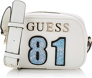 Guess Manhattan, Womens Cross-Body Bag, White (White/Whi),