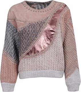 Alberta Ferretti Luxury Fashion Womens 09475103A5186 Pink Sweater | Fall Winter 19