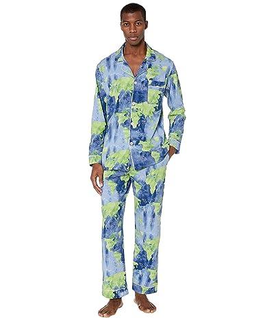 BedHead Pajamas Long Sleeve Classic Pajama Set (Mother Earth) Men