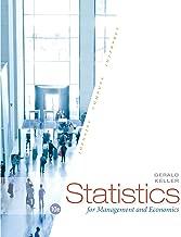 Best managerial statistics gerald keller Reviews