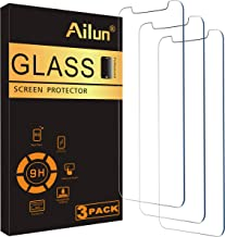 Ailun for Apple iPhone 11 Pro/iPhone Xs/iPhone X Screen Protector,3 Pack,5.8 Inch Display,Tempered Glass 2.5D Edge Work Most Case[NOT for iPhone 11,6.1 inch]