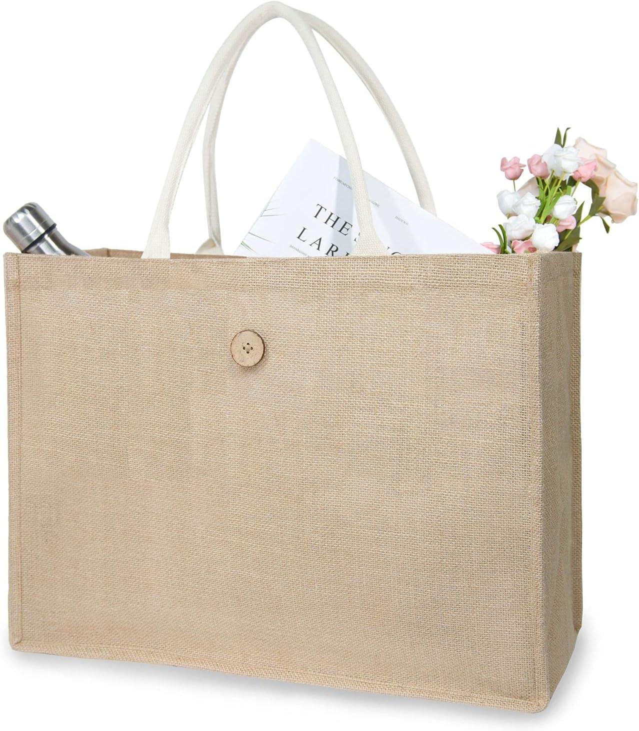 NPBAG Waterproof Tote Bag for 2021 new †Jute Premium New mail order – Women