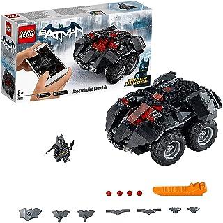 LEGO Super Heroes Batmóvil Controlado por app, Coche Teledirigido de Juguete, Set de Construcción del Coche de Batman, Recomendado a partir de 8 Años (76112)