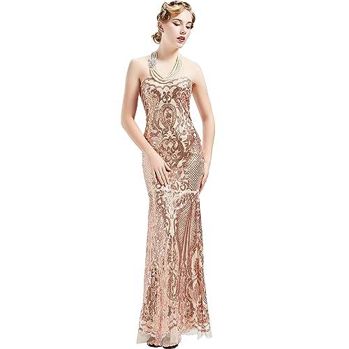 1920 Long Dress: Amazon.com